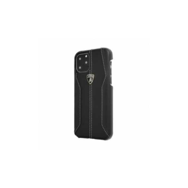 TPU kryt, obal Lamborghini Originálny zadný kryt na Apple iPhone XR Čierny