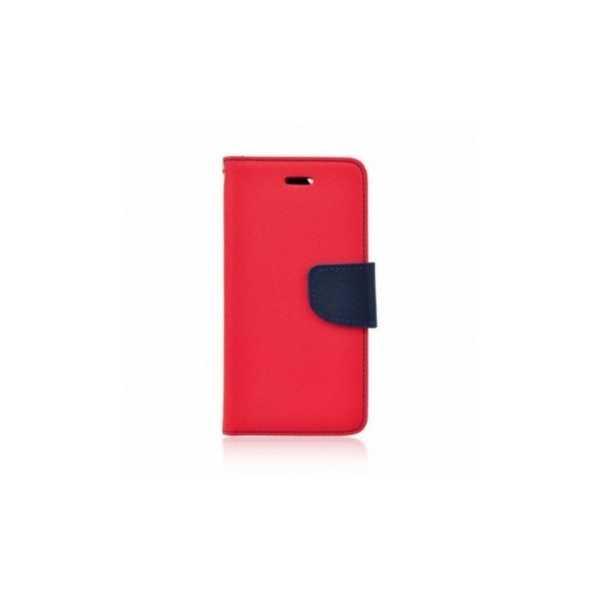 Peňaženkový obal Fancy Book na  Nokia 5  Červený