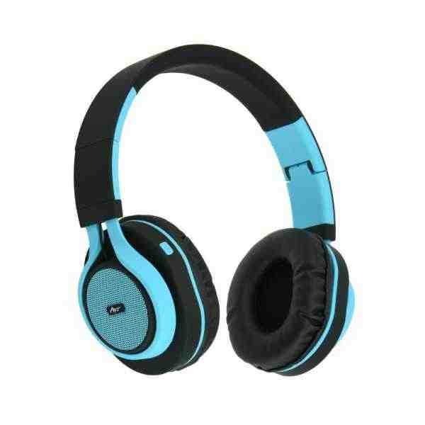 Bluetooth Headphones Stereo with mic AP-B04  Modrý
