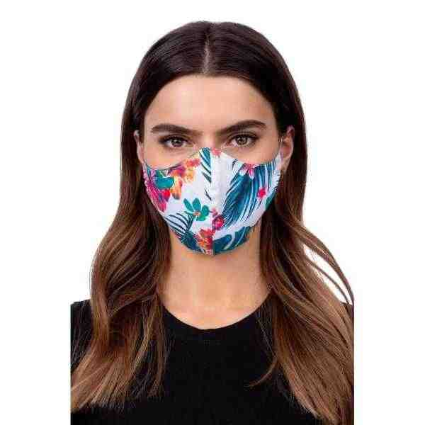Face mask - flower Multicolore